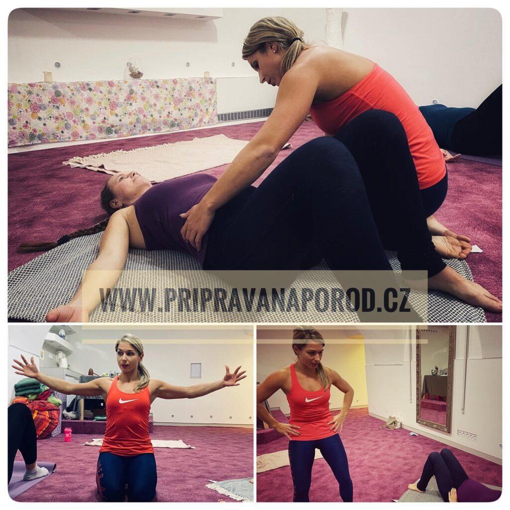 cvičení pro těhotné